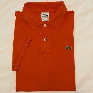 Lacoste men's golf shirt